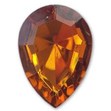 13mm x 18mm TOPAZ Teardrop Shape Acrylic Embellishment Gems